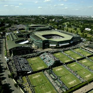 Adult Wimbledon Tennis Tour for Two Product Image