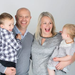 Family Photoshoot with a £50 off voucher - UK Wide Special Offer Product Image