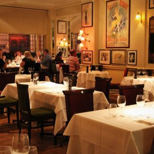 Two Courses with Champagne and Coffee at Langan's Brasserie in Mayfair Product Image