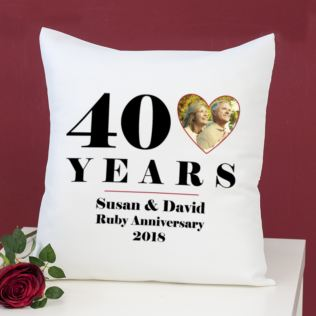 40th Wedding Anniversary Gift.40th Ruby Anniversary Gifts The Gift Experience