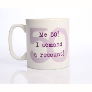 Me 50 I Demand A Recount Mug Product Image