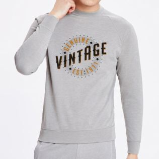 Mens 50th Birthday Vintage Grey Sweater Product Image