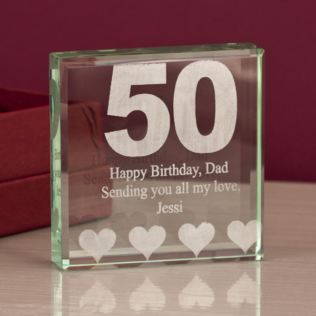 50th Birthday Keepsake Product Image