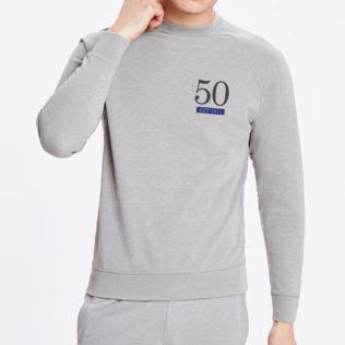 Mens 50th Established Grey Sweater Product Image