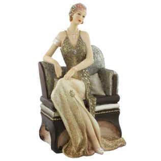 Broadway Belles Figurine - Valerie on Chaise Lounge Product Image
