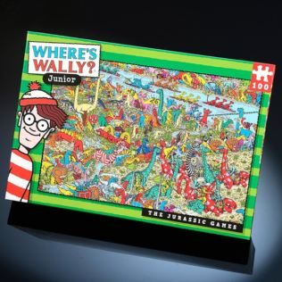 Where's Wally Kids Jurassic Games 100pc Jigsaw Puzzle Product Image