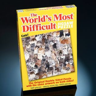 World's Most Difficult Jigsaw Puzzle - Cats Product Image