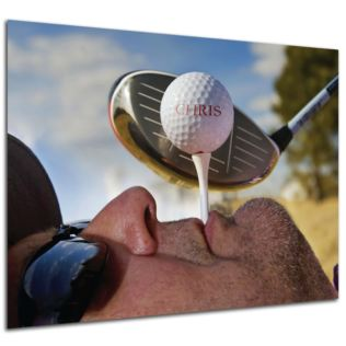 Personalised Golf Tee Poster Product Image