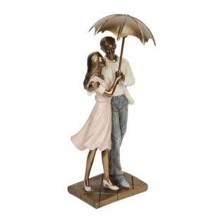 Rainy Day Collection Resin Figurine - Couple Standing 24.5cm Product Image