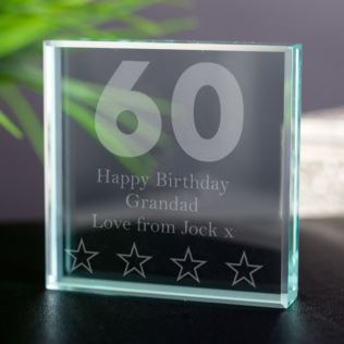 60th Birthday Keepsake Product Image