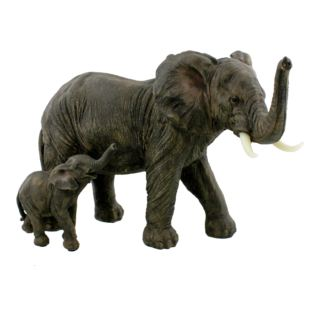 Naturecraft Figurine - Mother & Baby Elephant 20cm Product Image