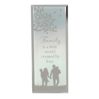 Reflections Of The Heart Family Standing Plaque Product Image