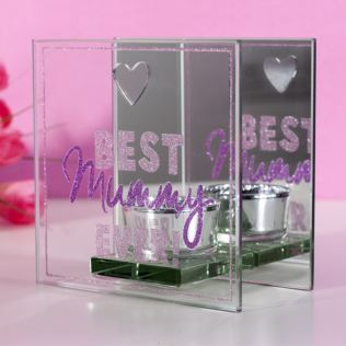 Best Mummy Ever Glass T-Lite Holder Product Image