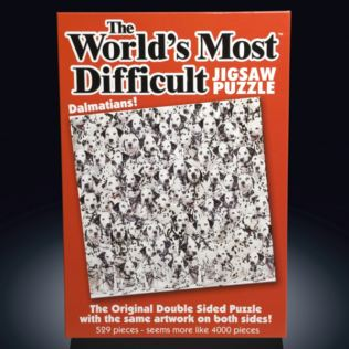 World's Most Difficult Jigsaw Puzzle - Dalmatian Product Image