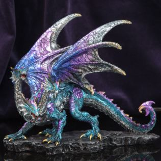 Mystic Legends Three Headed Blue Dragon 21cm Product Image