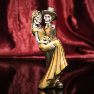 Day Of The Dead - Newlywed Couple Figurine - 20cm Product Image