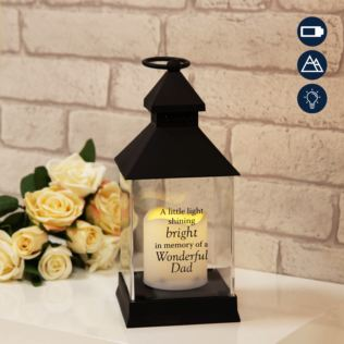 Graveside Memorial Lantern For Dad Product Image