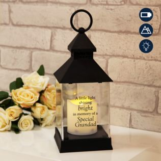 Graveside Memorial Lantern For Grandad Product Image