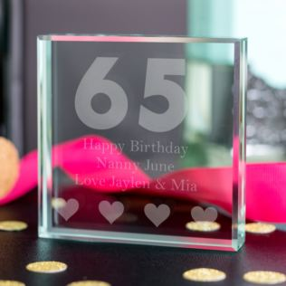 65th Birthday Gifts For Women Keepsake Product Image