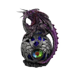 Mystic Legends Purple Dragon with LED Orb Product Image