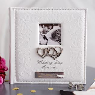 Personalised Wedding Memories I Do Photo Album Product Image