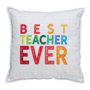 Thank You Teacher 30cm Square Scatter Cushion Product Image