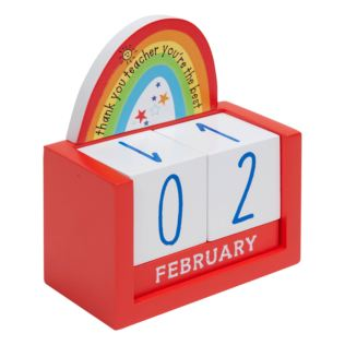 Thank You Teacher Perpetual Calendar Product Image