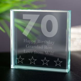 70th Birthday Keepsake Product Image