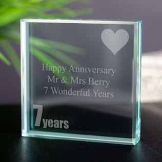7th (Wool) Anniversary Keepsake Product Image