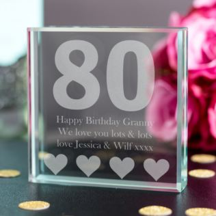 80th Birthday Keepsake Product Image