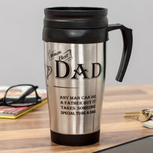 Dad Thermos Travel Mug Product Image