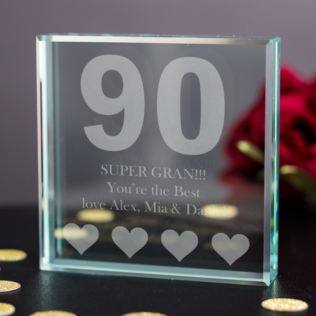 90th Birthday Keepsake Product Image