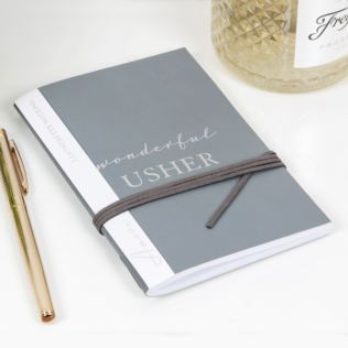 AMORE BY JULIANA® Leatherette Usher A6 Notebook Product Image