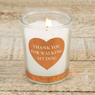 Best of Breed Scented Candle - Thank You For Walking My Dog Product Image