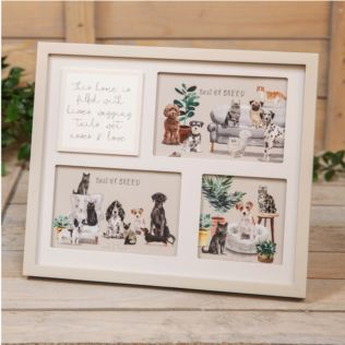 Best of Breed Wooden Collage Pet Frame Product Image
