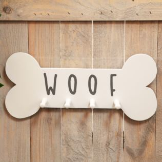 Best of Breed Wooden Hanging Dog Lead Hook - Woof Product Image