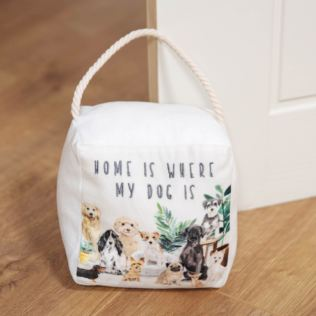 Best of Breed Doorstop - Home Is Where My Dog Is Product Image