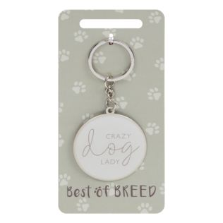Best Of Breed Keyring - Crazy Dog Lady Product Image