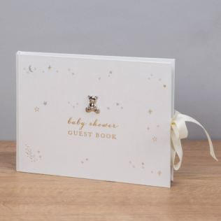 Bambino Little Star Baby Shower Guest Book Product Image