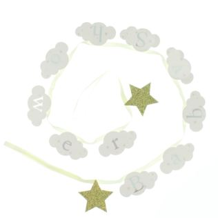 Bambino Cloud Baby Shower Bunting Product Image