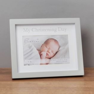 "4"" x 6"" - Bambino My Christening Day Frame in Gift Box Product Image"