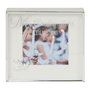 "3"" x 3"" - Silver Plated Box Frame - My Confirmation Product Image"