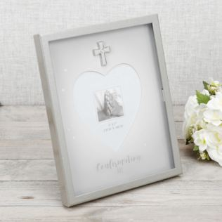 "5"" x 7"" - Confirmation Shadow Box Photo Frame Product Image"