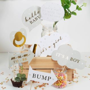 Bambino Baby Shower Photo Booth Props Product Image