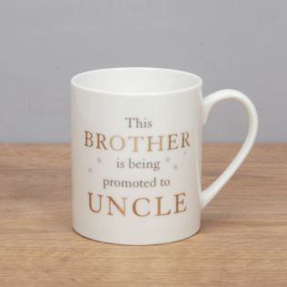 Bambino Porcelain Mug - Brother Promoted to Uncle Product Image