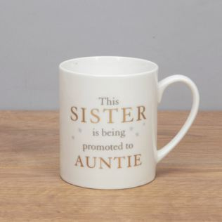 Bambino Bone China Mug - Sister Promoted to Auntie Product Image