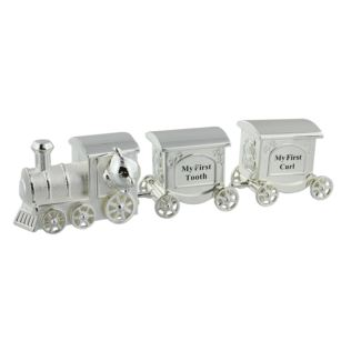 Celebrations Silverplated Train First Tooth & Curl Set Product Image