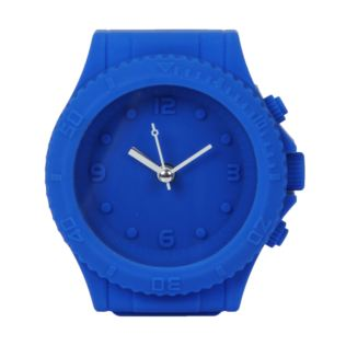 Just 4 Kids Silicone Mantel Clock - Blue Watch Style Product Image