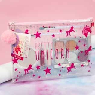 Pretty Little Unicorn Cosmetic Bag Gift Set Product Image