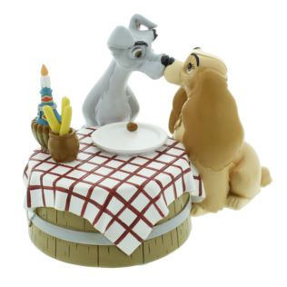 Disney Magical Moments Figurine - Lady and the Tramp Product Image